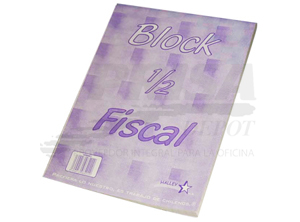 BLOCK APUNTES FISCALITO 7MM RONEO 80 HJS. 16 X 21