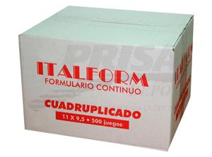 FORM.CONT.AUTOC.11X9.5/4/500 ITALFORM