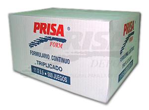 FORM.CONT.AUTOC.11X9.5/3/500 PRISA FORM
