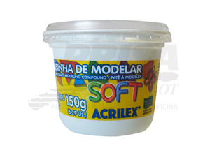 MASA P/MODELAR ACRILEX 150 GR. MARAVILLA
