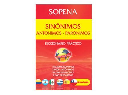 DICCIONARIO SOPENA SINON-ANTON-PARONIMOS