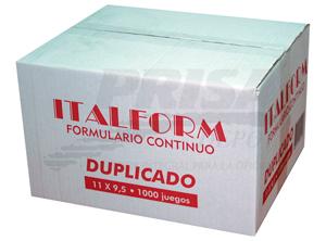 FORM.CONT.AUTOC.11X9.5/2/1000 ITALFORM