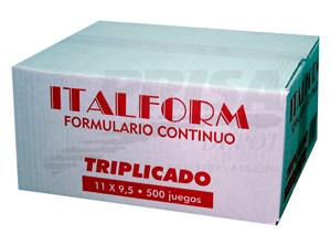 FORM.CONT.AUTOC.11X9.5/3/500 ITALFORM