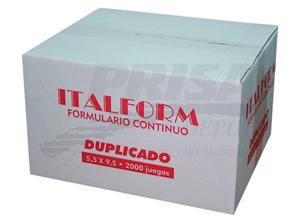 FORM.CONT.AUTOC.5.5 11X9.5/2/1000 ITALFORM