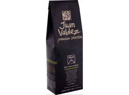 CAFE GRANO/ENTERO JUAN VALDEZ 500GR VOLCAN