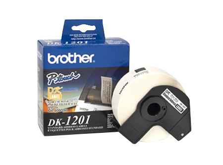 CINTA ROTULADORA BROTHER DK-1201 ETIQUET 29MMX90.3