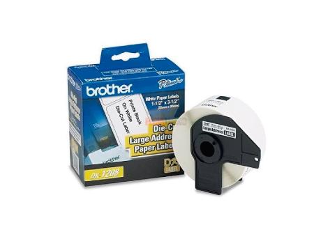 CINTA ROTULADORA BROTHER DK-1208 38MM X 90MM 400U