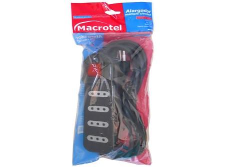 ALARGADOR ELECTR. 3 MTS 4 POSIC MACROTEL SWITCH N
