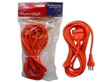 ALARGADOR EXTENSION MACROTEL 5 MTS(MACHO/HEMBRA)
