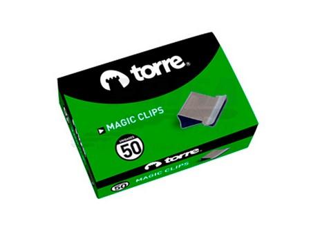 CLIPS MAGICOS 50 UN. TORRE 4MM