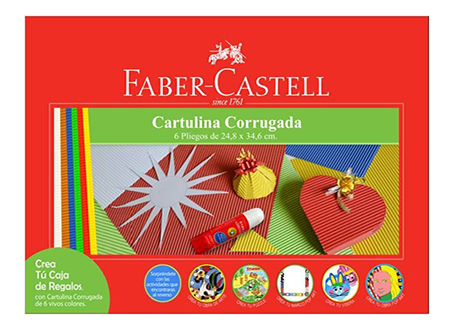 CARPETA ARTE FABER CARTON CORRUGADO