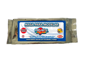 MASA P/MODELAR PROARTE BLANCA 1/2 KILO