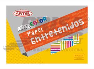 CARPETA ARTE COLOR PAPEL ENTRETENIDO(STYLO)16H ART