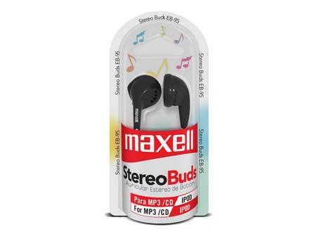 AUDIFONO MAXELL MP3/MP4/CELUL 3.5 STEREO EB95 NG