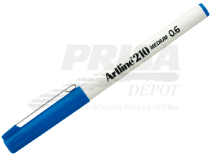 LAPIZ FIBRA 0.6 ARTLINE 210 AZUL