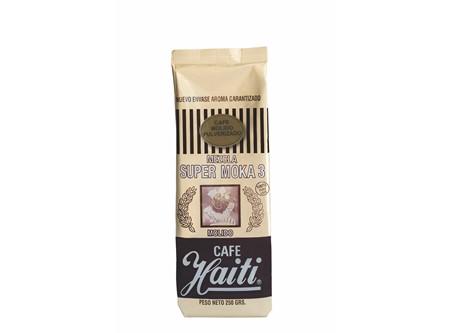 CAFE GRANO HAITI SUP/MOKA 3 MOLID/PULVE.250GR.DORA