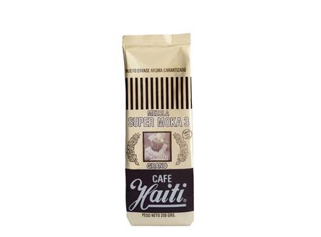 CAFE GRANO HAITI SUP/MOKA MEZC/GRANO 3 250GR.DORAD