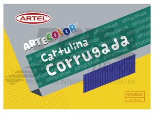 CARPETA ARTE COLOR ARTEL MICROCORRUG. 6 COL.