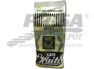 CAFE GRANO HAITI SUP/MOKA 3 MOLID/PERC.250GR DORAD