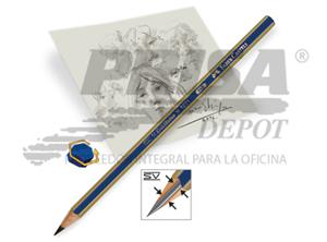 LAPIZ GRAFITO FABER 1221 1B