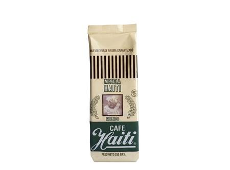 CAFE GRANO HAITI MOLIDO MEZCLA 250GR (VERDE)