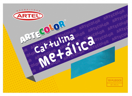 CARPETA ARTE COLOR ARTEL METALICA