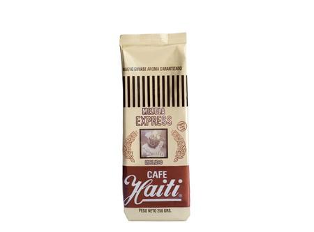 CAFE GRANO HAITI EXPRESS MEZCLA 250GR.MOLIDO ROJO