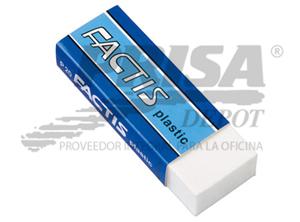GOMA BORRAR FACTIS P/LAPIZ P-20 PLASTICA