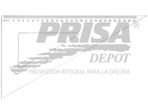 ESCUADRA PLASTICA 60o. 25CM PROARTE