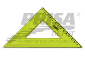 ESCUADRA PLASTICA 45o. 20CM NEOLITE