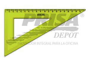 ESCUADRA PLASTICA 60o. 20CM NEOLITE