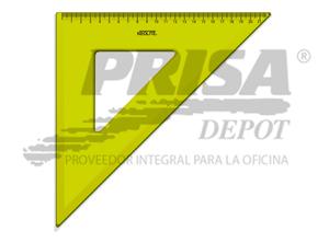 ESCUADRA PLASTICA 45o. 30CM NEOLITE