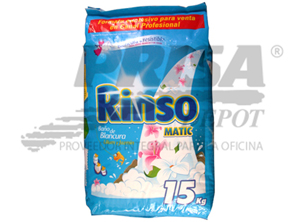 DETERGENTE POLVO 15 KL RINSO MATIC AROMAS