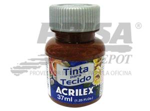 PINTURA GENERO 37 ML ACRILEX MARRON