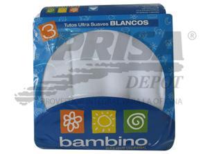 PAÃ'AL TELA BAMBINO 3 UNID.80X80 CMS.
