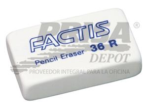GOMA BORRAR FACTIS 36R (MIGA)