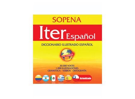 DICCIONARIO ESPANOL ITER SOPENA